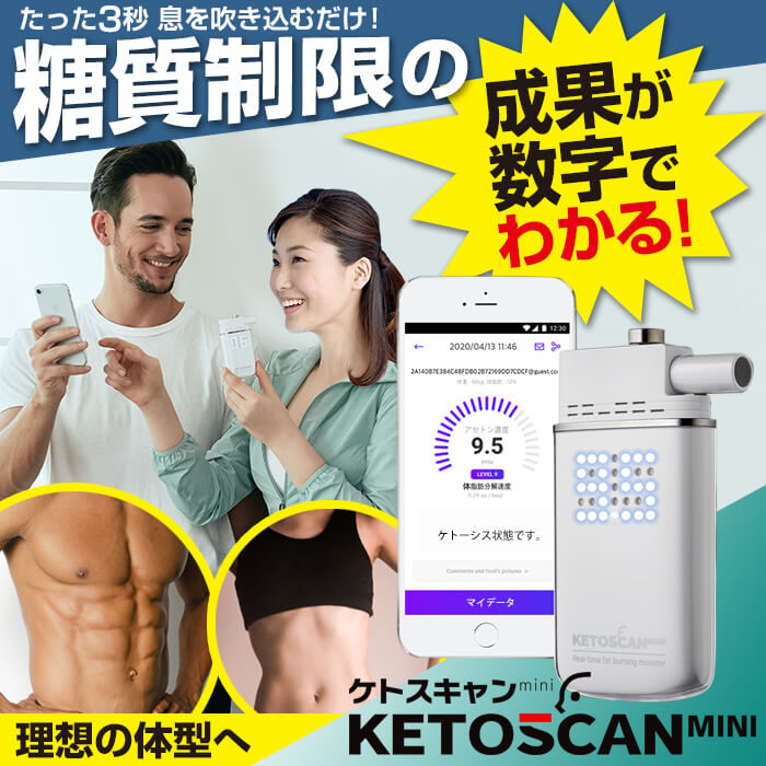 KETOSCAN mini ケトスキャンmini